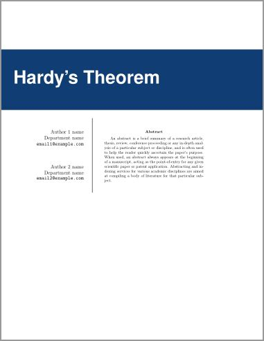 Phd Dissertation Front Page - Doctoral Thesis Title Page